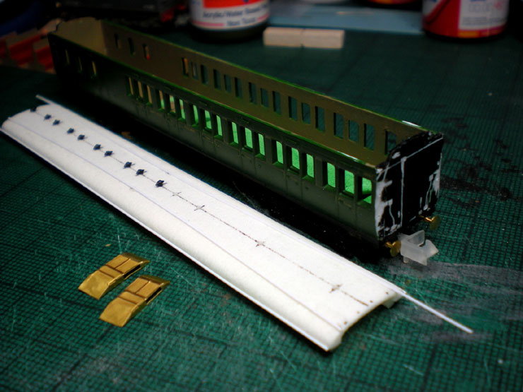 LSWR carriage conversion